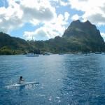 In der Maikai Marina in Bora Bora angekommen