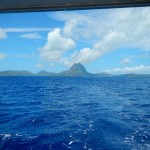 Leaving BoraBora