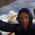 Die Capitana unterstuetzt unsere Windsteuerung bei ihrer schweren Arbeit