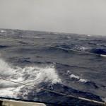 Neue Windsee bei 9 Beaufort
