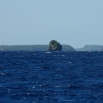 Entering the Vava'u group of islands.