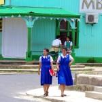 Tongan schoolgirls