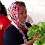 Another old lady sellin her homegrown salad