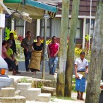 Street scene in Neiafu