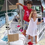 Bruno and viola opening a restaurant on the foredeck