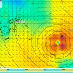 Kategorie 5 Zyklon Ian fegt ueber Tonga hinweg