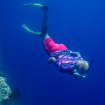 Me, freediving.