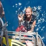 Den Grillrost wieder den Tiefen des Meeres entrissen