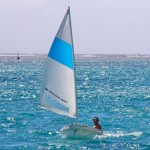 Dinghy - sailing solo