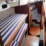 Passage from the aft cabin to the saloon