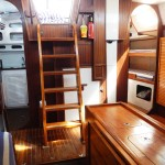 Saloon - from the front cabin