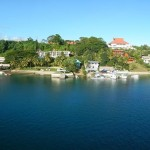 Port Vila - seen from the mast