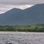 We leave Tanna and wave good-bye to our friends on the SY Kira