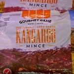 Kangaroo meat (nice !)